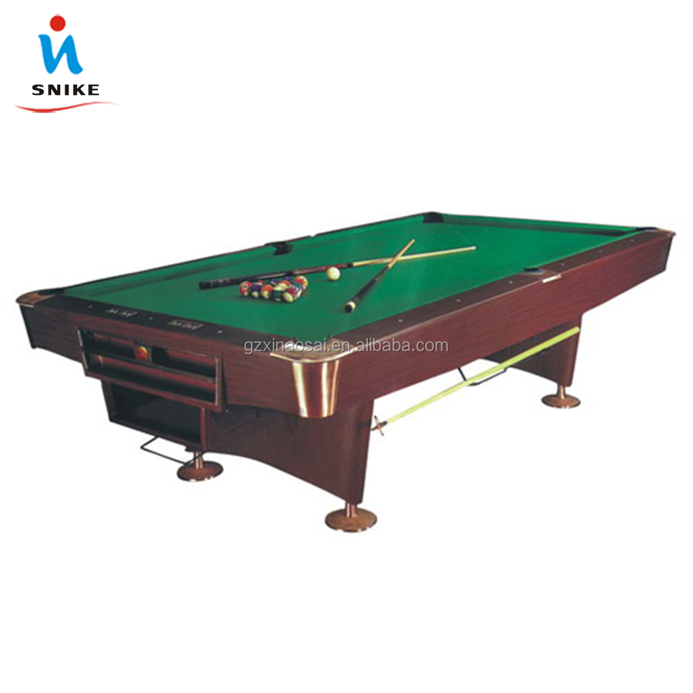 Factory Direct Sale Cheap (Solid Wood 30mm Slate K55 Rubber ) 8ft Bar Billiard Table