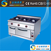 Hot sale ceramic infrared propane gas 3 burner with cabinet factory