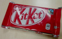 KIT KAT dark product of Nestle