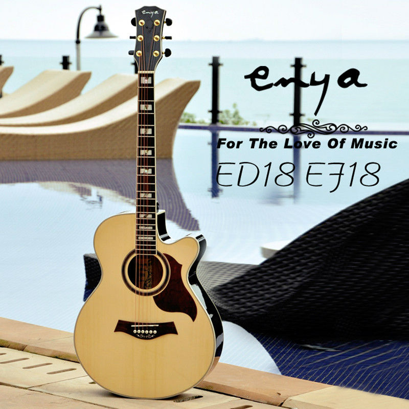 Enya Acoustic guitar E18 Series,guitar copy