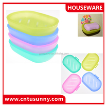 Magic removable plastic shower soap holder for showers
