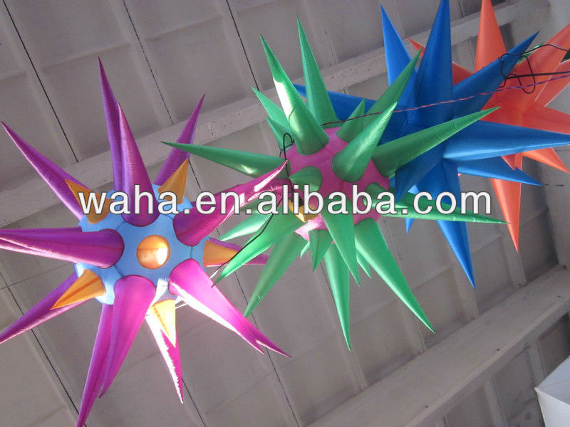 New! inflatable star for night club/party decoration!