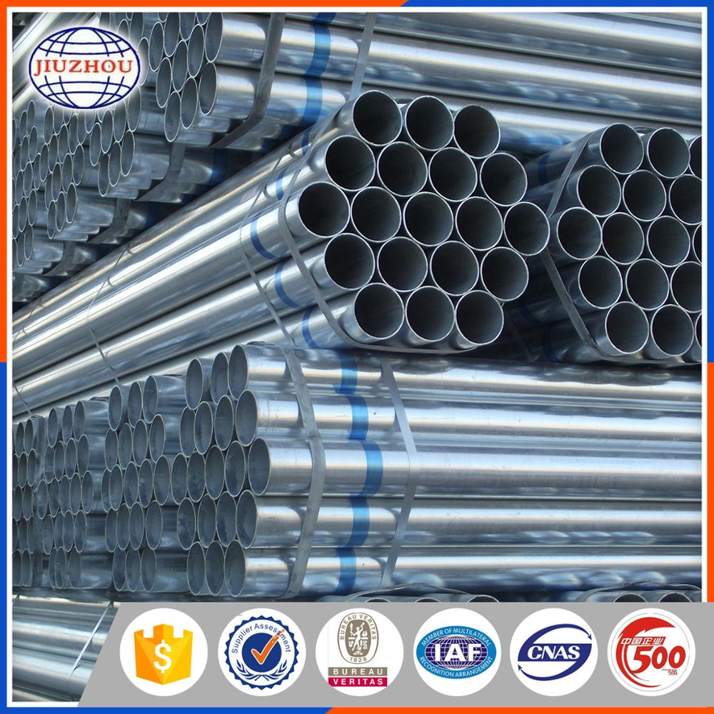 Factory Directly Supply Hot Dip Galvanized Steel Pipe For Agriculture Equipment