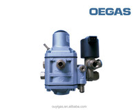 High quality CNG gas regulator for dual fuel cars with R110 Certificate
