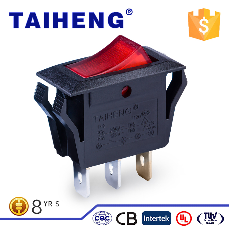 Wide varieties two way spdt rocker switch for sealing machine