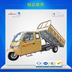 650CC Truck Cargo Tricycle / 3 Wheel Van Cargo Tricycle