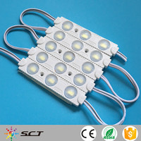 Hot sale ! 3 Chips 5730 Led smd waterproof injection Module For Acrylic Illuminated Signs