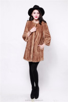 Mink fur coat 2014 natural long fur coat