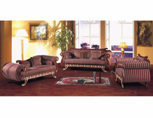 Living room sofa set furniture with carved A10051