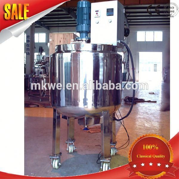 hot sale cosmetic manufacturing plant/chemical equipment/ reactor