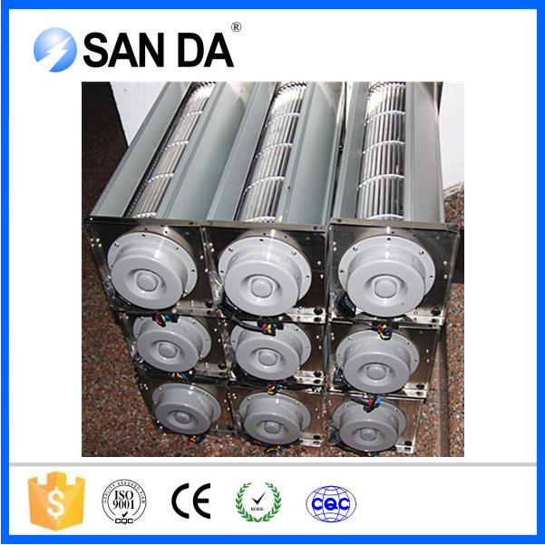 Cross flow type royal air cooling fan for dry type transformer