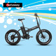 Sataway Hot Sale folding electric bike fat tire