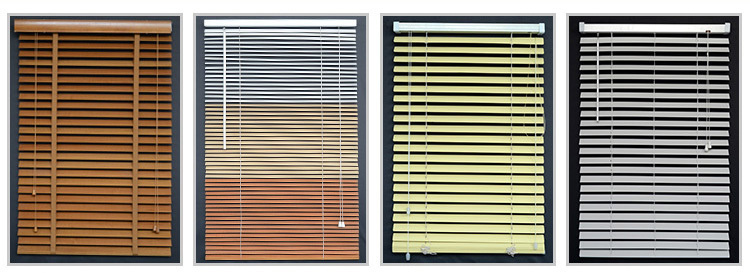 Factory Direct Supply 1.5 Inch Natural Wood Blinds