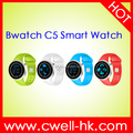 2016 Bwatch C5 UV Tester Bluetooth Smart Watch With Phone Call and Heart Rate mobile watch