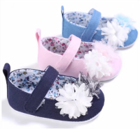 Newest Styles Cute Sandals Baby Barefoot Sandals children's shoes Toddler flower Shoes Baby Shoes