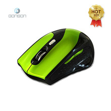 Shenzhen computer accessories wireless USB 2.4GHZ optical mouse for gaming