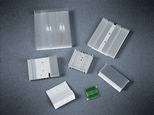 Machined aluminium heatsinks for electrical applicances,high quality