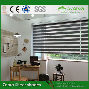 Modern Style Blinds Zebra Sheer Shades