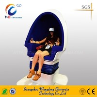 9d virtual reality with double seats/2016 best price 9d vr amusement ride cinema