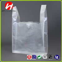 Transparent PE LDPE HDPE Packaging Printed plastic sealing bags for shopping