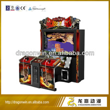 2013 new and fun Dragonwin coin operated amusement simulator video arcade simulator electronic indoor kids tv gun shooting game
