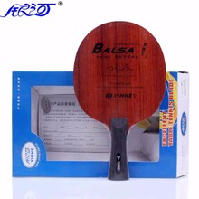 Yinhe Galaxy Long Plastic Balsa 9MM 5+1C Ping Pong Paddle Without Rubber