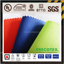 Fireproof ESD satin twill fabric for mining industry