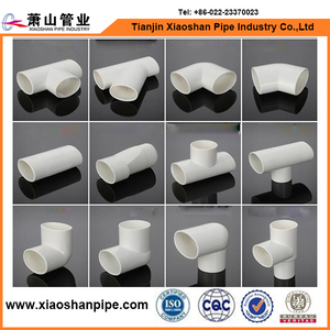 ASTM standard D1785 SCH 40 pvc pipe fittings