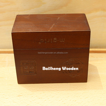 Nature style wooden packaging boxes essential oil wood box