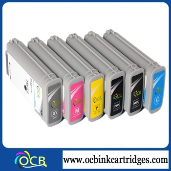 Factory Price Printer Compatible Ink Cartridge For HP Designjet Z2100 Z5200 Z5400 Z3100 Z3200 Inkjet Ink Cartridges For HP 70