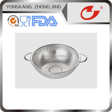 Kitchen colander stainless steel function for vegetables
