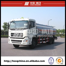 China JINGGONG big capacity 230HP fuel oil delivery tank truck