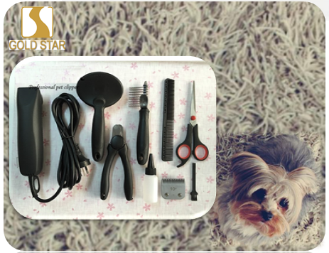 Pet cleaning set / tool / dog grooming set Pet Grooming Boxed Gift Set SR-122CKIT