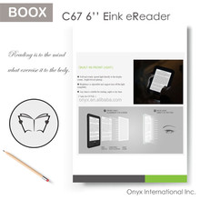 Cheapest High quality C67S Boox eReader Open Your ebook reader e-ink