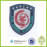 no minimum cheap price bird embroidered patches