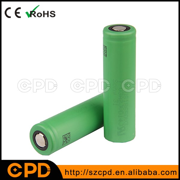V3 Rechargeable Li-ion Battery 3.7V 2900mah for Sony 18650 2250mAh US18650V3