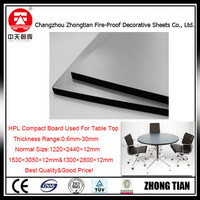 office table top compact laminate table top HPL laminate sheet Decorative High-Pressure Laminates