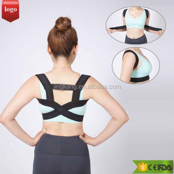 Upper Back Posture Corrector Brace Clavicle Support for Fractures, Sprains, Shoulders