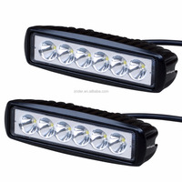 ATV Motorcycle Sales Order 3W*6PCS LED Bar Off Road, Spotlight 18W Light Bar IP68_