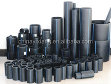 Chemical Industrial PE Plastic Pipe / HDPE Water Pipe Dn25mm - 1200mm price list