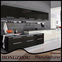 High Gloss Cheap Modular Kitchen Cabinet Color Combinations