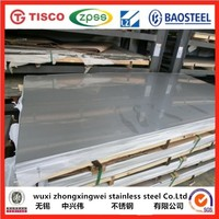 BA finish sus 202 stainless steel sheet price from wuxi factory