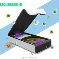 smartphone sanitizer with charger function cellphone and jewelry disinfector smartphone aromatherpy UV lamp sanitizer