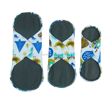 Washable Reusable Nursing pads Bamboo Charcoal Sanitary Pads menstruaL Pads Day and Night
