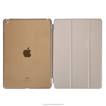 Ultra Thin Magnetic Smart Cover Wake and Sleep Function Clear Back Case for Apple iPad Mini 2 Mini 3 with Retina Display