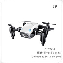 S9 Mini Drone Foldable Pocket Quadcopter with Camera WIFI App Control