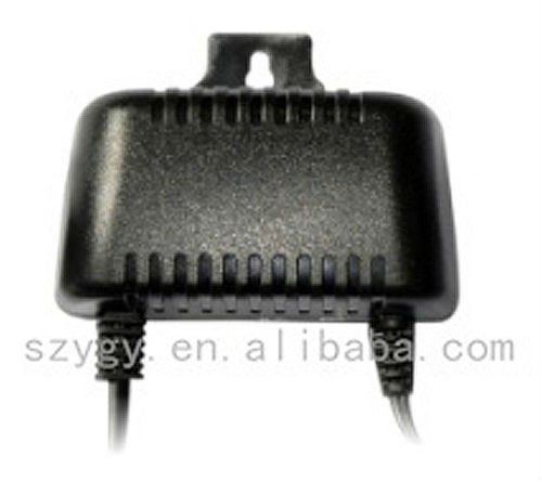 YK-04 24W waterproof hanging 12v1a power adapter for CCTV camera with 100V to 240V input
