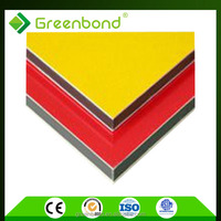 Greenbond latest exterior wall finishing material aluminium composite panels