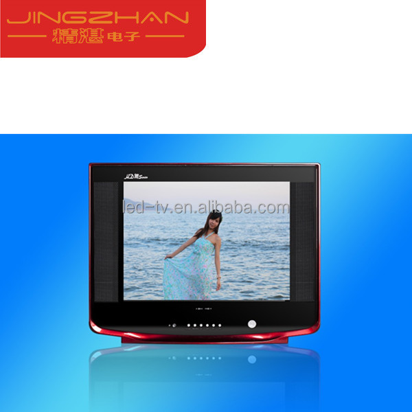 Widely-used CO certificate brand new 17inch pure flat picture tube crt tv with USB slot