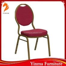 Used hotel 2016 banqueting chair with stretchable cover